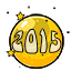 Start off the New Year with a new 2015 gumball!