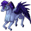 A flying, winged, purple horse squishie! A lovely addition to your collection.