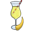 Banana Fizz, like slurping real bananas straight from the faucet!