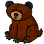 This is a bear squishie.  He is TIRED of being confused with his COUSIN the TEDDY BEAR.  What are you trying to say, hmmm?  That they all look the same to you?