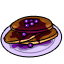 There's no reason to eat plain pancakes. Just top them with some fresh blueberries and have a special breakfast.
