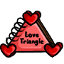 The trials and tribulations of a love triangle