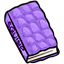 The outside of this book is soft and quilted like a squishie.  Just don't confuse it for a Book-Squishie.