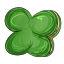 It has details all about clovers!