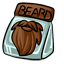 This beard is cheaply made and overpriced.
