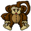 A soft cuddly monkey of your very own!