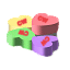 Traditional candy hearts have Valentines Day related sayings making them a great filler for favors or candy dishes