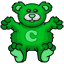 A teddy bear Celtic - a must have item for all.