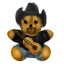 Cowboy Bear will play some down home country music for you.