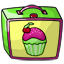 Buddy wants to share his cupcakes with you.