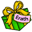 Ooh look at the gift left for Erath under the tree!