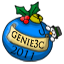 Genie3c Blue Ornament
