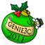 Genie3c Green Ornament