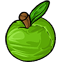 Sweet fresh green apples...  Mmmm.  Wait...  This isn't REALLY and apple, is it?  D: