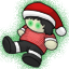 One of Echos minions have gotten into the holiday spirit.