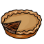 I wonder what kind of meat is in this pie. Anyone need a haircut?