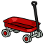 Do your pets like to take their toys for walks? The get this wagon to help them carry all their favorites.