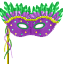 Picture yourself in the middle of the French Quarter wearing this mask
