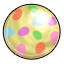 This gumball will always make you think of Easter.