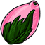 These strange fruits looks something like a pink lemon... mango... thing.  I hear Bubbles loves them.  You should send it to her.  >.>