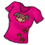 Wear this to easily make new friends! Why? Because this shirt is too cute!