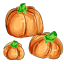 Isn't that cute? These candy corns are shaped like pumpkins!