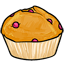 This is a wonderfully simple muffin.  Great for breakfast or with tea!