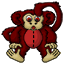 A soft cuddly monkey of your very own! (michele)