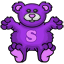 A teddy bear Skooter - a must have item for all.