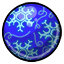 Capture the spirit of winter by adding this chilly gumball to your collection!