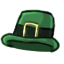Celebrate St Patricks Day by wearing this special hat.