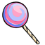 Cotton candy & hard candy in one lollipop? Pinch me I'm dreaming!