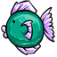 This is a fabulously trendy fish.  :D