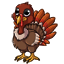 Now your av can have a pet turkey.