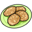 A plate of warm cookies for your pet.