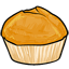 This muffin contains orange zest for a tangy refreshing flavor!